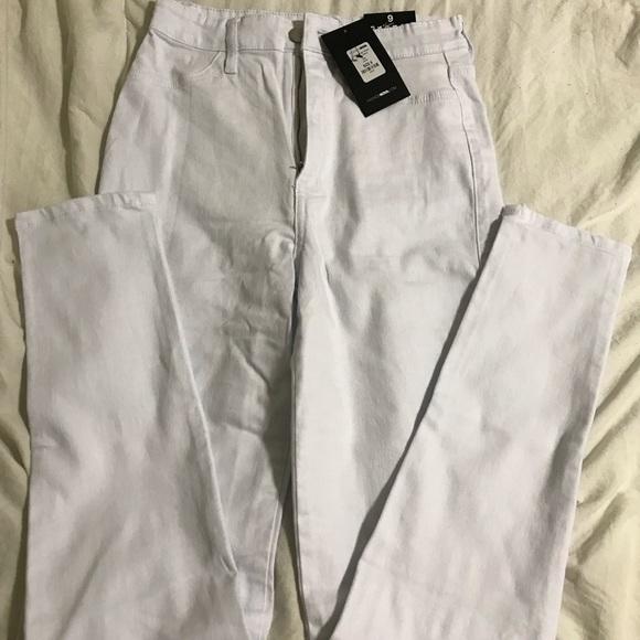Fashion Nova Denim - NWT Fashion Nova white high waist skinny jeans